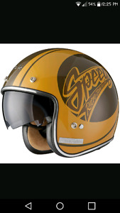 Looking for a cafe racer style helmet.