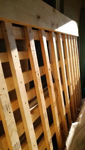 DIY bedframe or Free lumber
