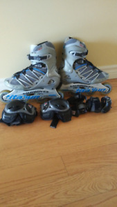 rollerblade ou patin a roulette