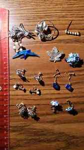Earings and misc jewelry