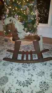 Rocking Horse solid wood