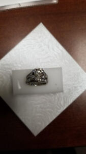 Appraised over $30,000! 2.11 carat white gold engagement ring