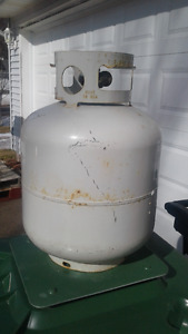 Propane Tank with Gauge
