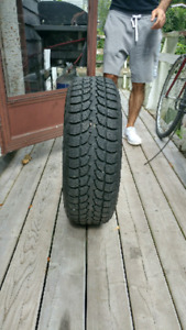 """4 Winter Tires 15"""". Used for February/March."""