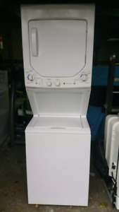 Stackable washer and dryer GE