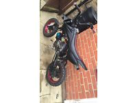 110cc Lifan pit bike