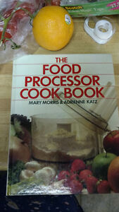 Cookbook, Food Processor, New, Hardcover