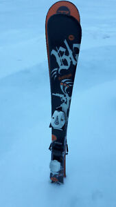 Rossignol 115 - Youth DownHill Skiis with Nordica Boots/Poles