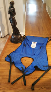 BRAND NEW Sunrise Med patient lift Deluxe SLING Quick fit HOYER