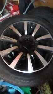 Set of four 15inch rims