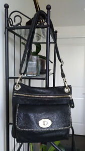 ROOTS Premium Prince leather bag . Made in Canada.