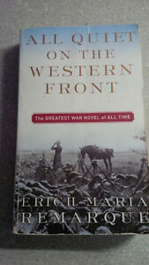 All quiet on the western front ISBN: 978-0-449-21394-0