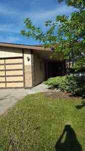 Large home, double attached, fenced yard in Strathmore
