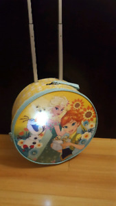 Disney Store Light Up Rolling Frozen Fever Luggage