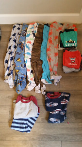 18 month boys clothing lot - 58 pieces