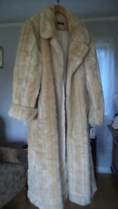 Faux fur coat --Winter is coming - $25