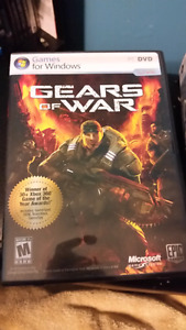 Pc games: gears of War & crysis
