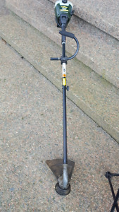 Gas trimmer   Works well. Priced for quick sale