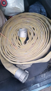 Used fire department hose