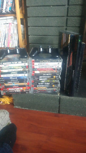 Ps3 with games/cords/controllers