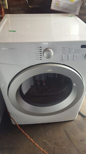 Front load electric dryer  60.00, white, works well, Delivery av