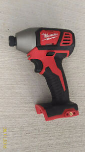 "Milwaukee M18 impact Driver 1/4"" hex- ""Bare Tool"""