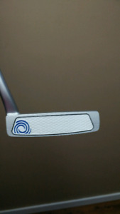 Left handed White Hot RX #9 Odyssey putter