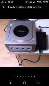 GameCube with memory card