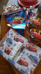 Cars Bday Party Supplies
