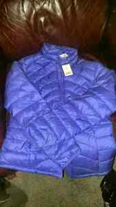Suzy Shier womens light down jacket size small