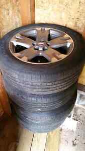 Toyota Rav 4 Rims and Tires