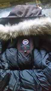 Canada Goose Parka brown Trade for black one London Ontario image 1