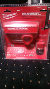 Milwaukee M12 System STARTER KIT Brand New $45