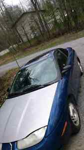 REDUCED!! SATURN 2002 SC-SERIES CASH ONLY $700.00 OBO
