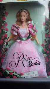 BARBIE COLLECTIBLE - Rose Barbie  1999