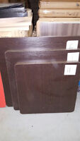 BROWN TABLES IN 3 DIFFERENT SIZES CLEARANCE SALE