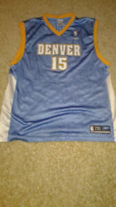 NBA Reebok Denver Nuggets Carmelo Anthony Jersey