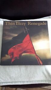 THIN LIZZY RENEGADE RED VINYL ! BRAND NEW !