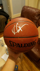 Signed Vince Carter basketball with authentication!