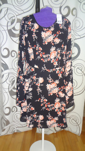 Robe imprimé floral,FOREVER 21/ taille L