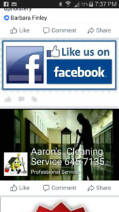 Aaron's cleaning service 1 ( 506 ) 645-7135