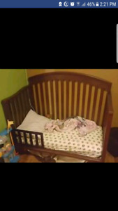 4 in 1 crib includes toddler rail