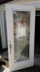 Door Stained glass light