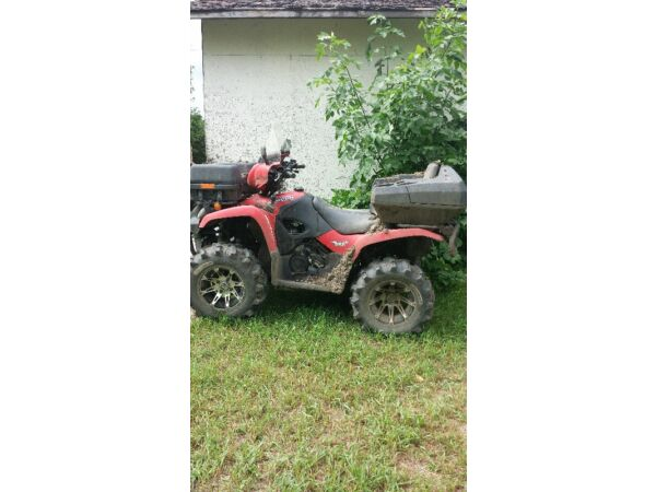 Used 2007 Suzuki Vinson 500cc 4x4 5 speed foot shift