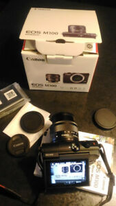 Canon EOS M100 Like New Condition