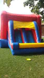 23'×15' FEET COMMERCIAL GRADE BOUNCY CASTLE COMBO WITH 2 SLIDES
