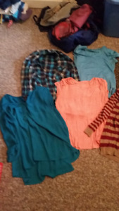 Assorted Woman's Clothes