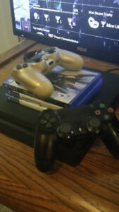Ps4 + 3 Games + 2 Controllers (Need gone asap)