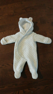 Carter's newborn snowsuit