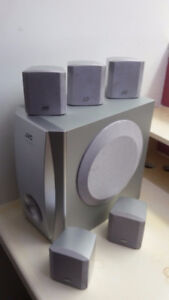 JVC Home Theater speakers only